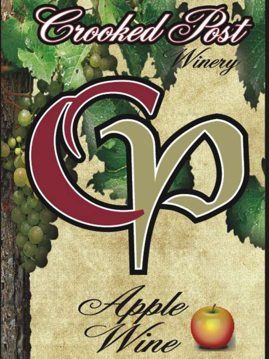Apple Fruit Wine Wine Label