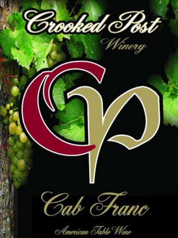 Cab Franc Wine Label