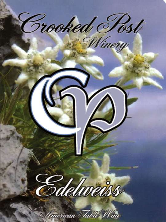 Edelweiss Wine Label
