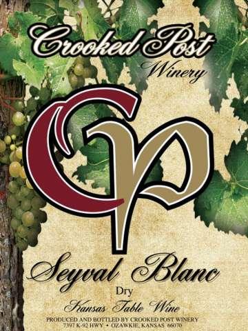 Seyval Blanc Dry Wine Lable