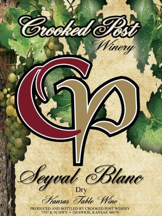 Seyval Blanc Dry Wine Lable