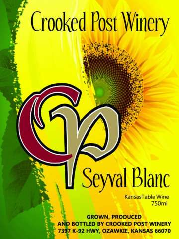 Seyval Blanc Wine Label