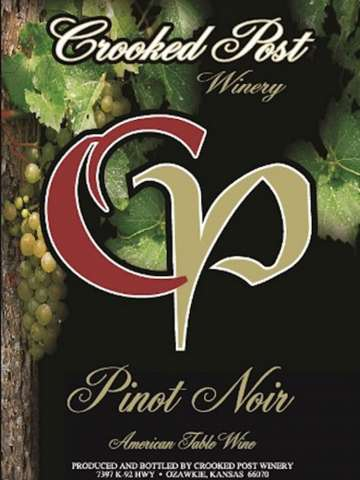 Pinot Noir Wine Label