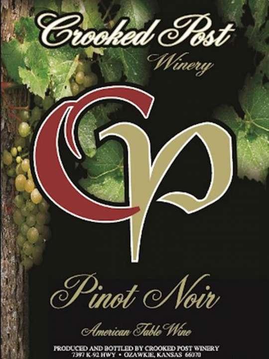 Pinot Noir Wine Label