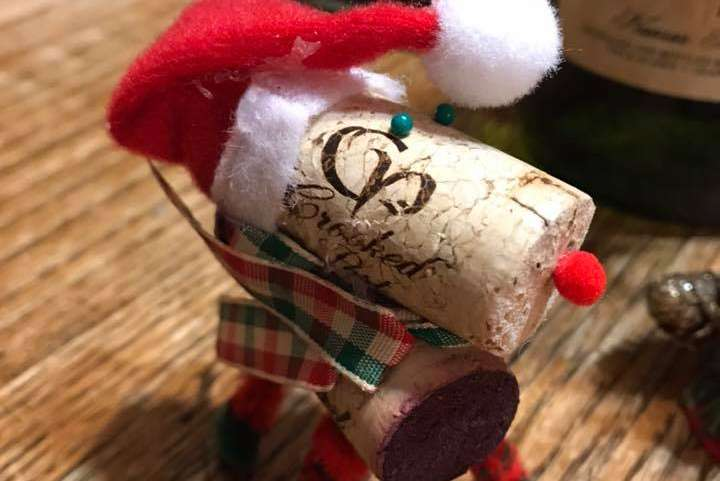 Annual Christmas Cork Craft