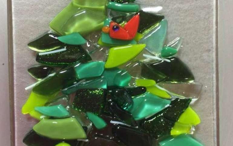 Christmas Glass Class