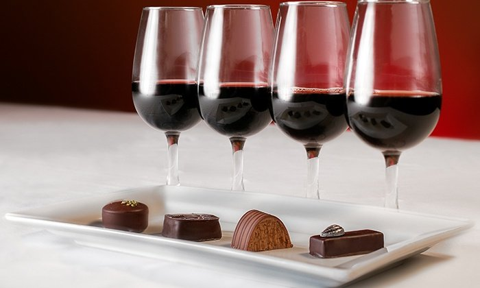 Wine and Chocolate for Valentines weekend!